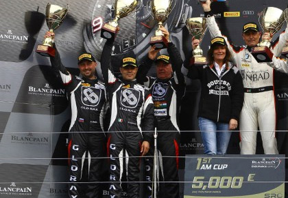 Blancpain Endurance Series: Glorax Racing is the first in Am Cup championship