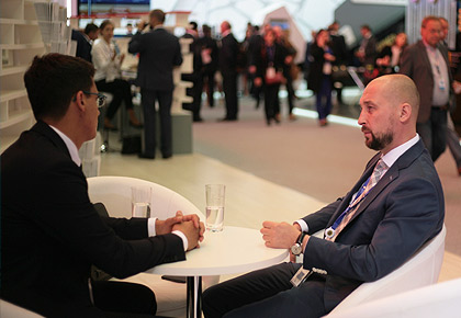 Andrey Birzhin participates in the St. Petersburg International Economic Forum