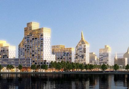 Glorax Development starts construction of unique Golden City complex in Saint Petersburg