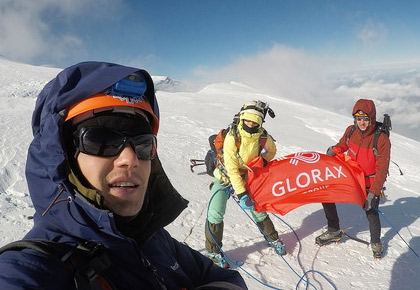 Glorax Life team took part in an international ascent of Mont Blanc