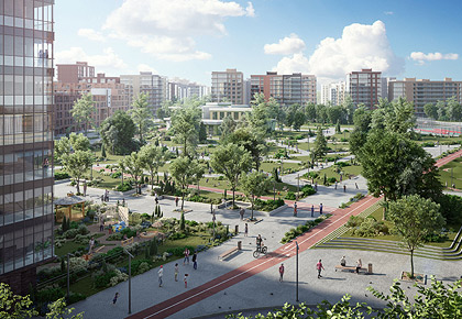 Glorax Development launches a large-scale Ligovsky City project in Saint Petersburg