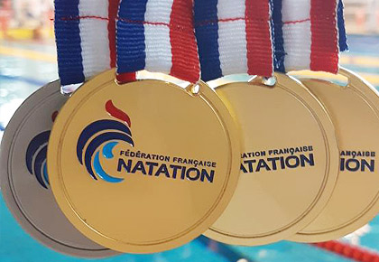 Glorax Life swimmer took three gold medals at international competitions