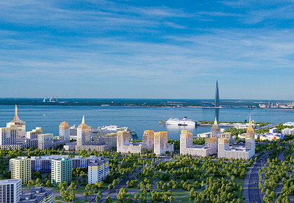 Glorax Development in the first lines of the St. Petersburg developers rating in terms of housing construction