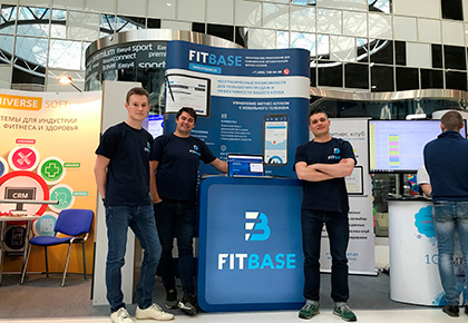 Glorax.IO presented a new product at the exhibition of innovations in the fitness industry