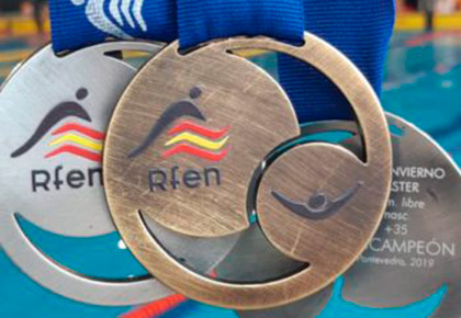 Swimmer of Glorax Life won gold in the International Championship