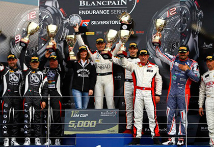 Blancpain Endurance Series: Glorax Racing Takes First at Paul Ricard