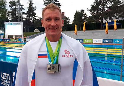 Swimmer of Glorax Life set a record of Russia and became a European Champion