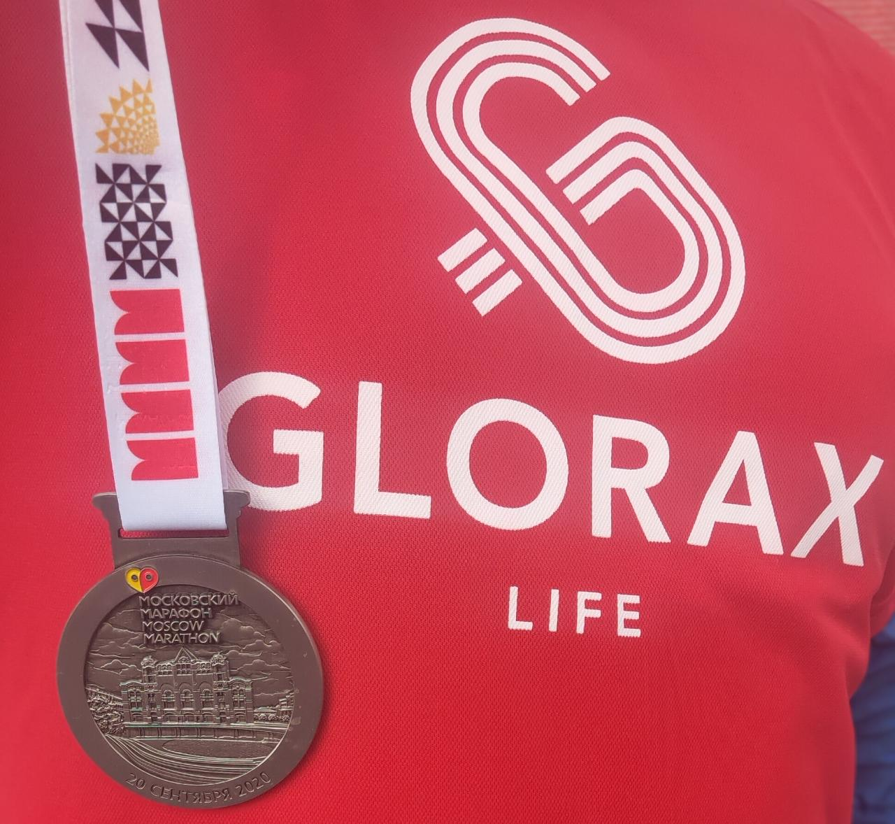 Glorax Life Participates in the largest Russian Race