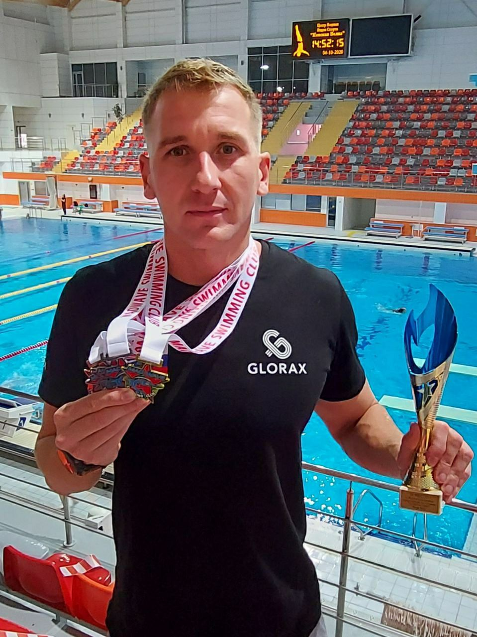 Glorax Life Swimmer Wins 5 Medals at International Tournament