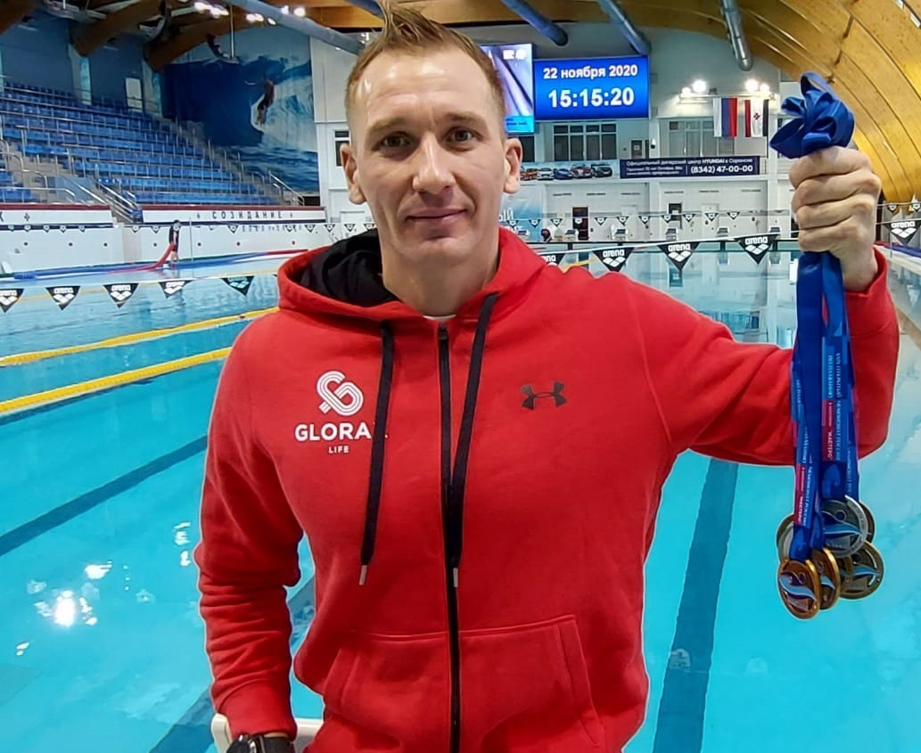 Glorax Life Swimmer Wins 9 Medals at the Cup of Russia Tournament